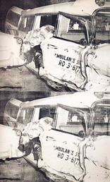 Ambulance Disaster (1963), Andy Warhol