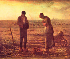 O Angelus, Millet